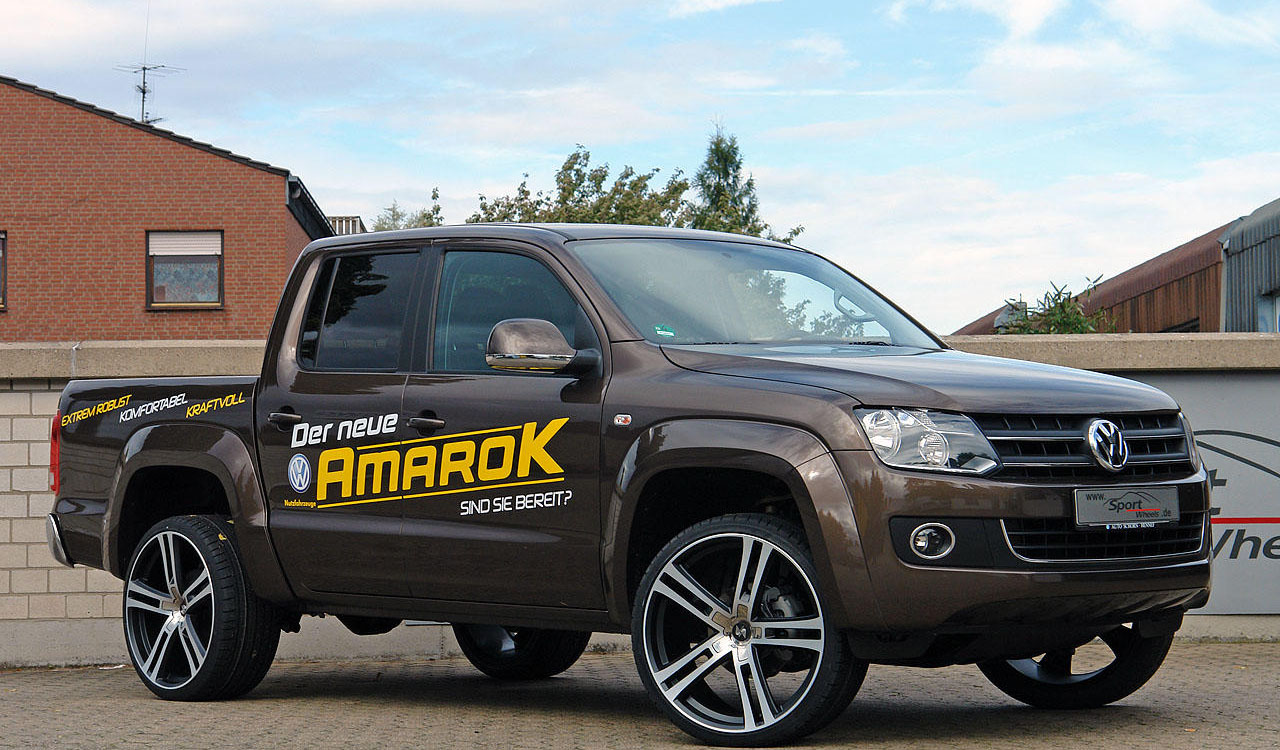 tuning automotive vw amarok 2011 tuning. Black Bedroom Furniture Sets. Home Design Ideas
