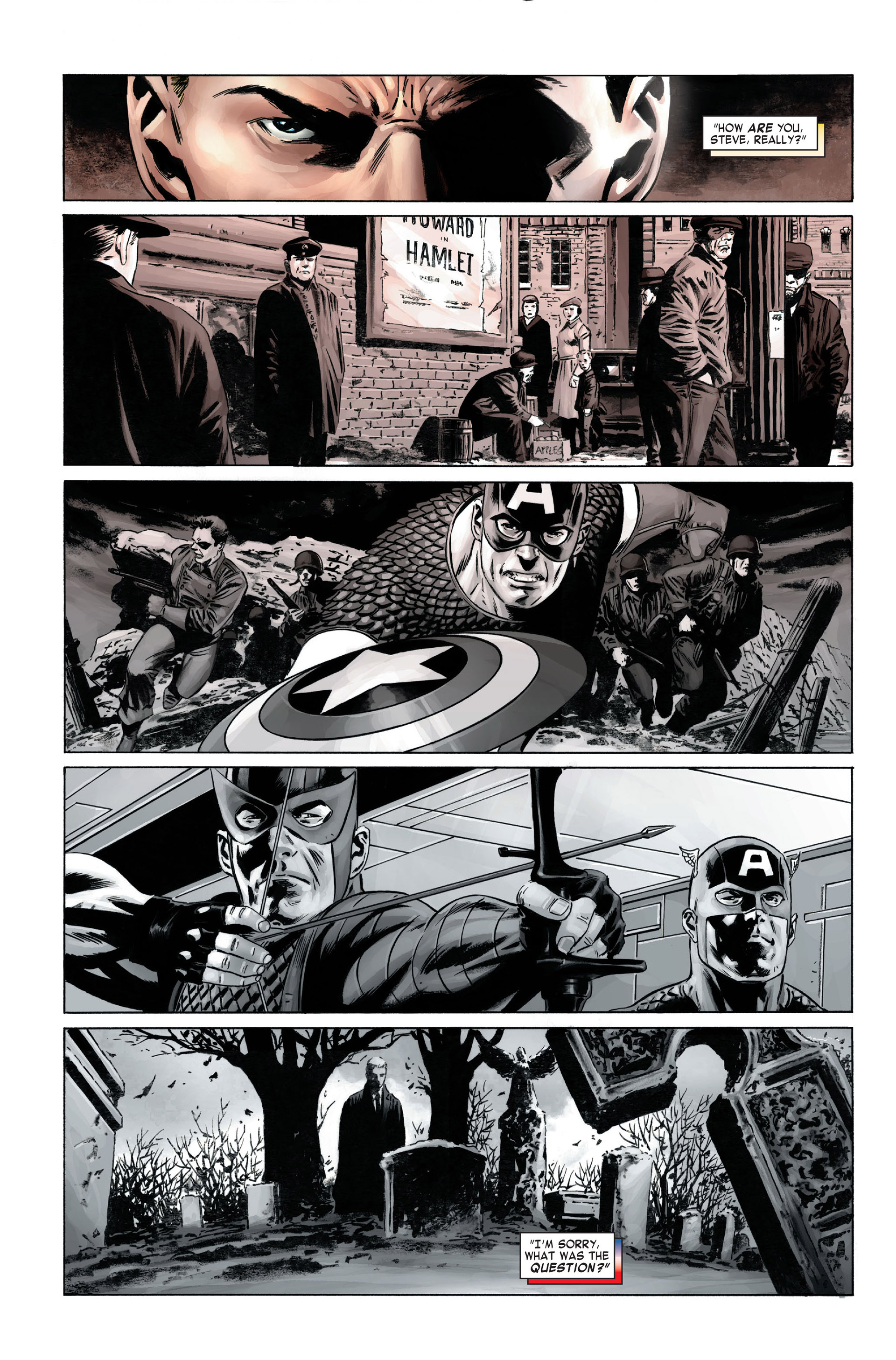 Captain America (2005) Issue #1 #1 - English 10