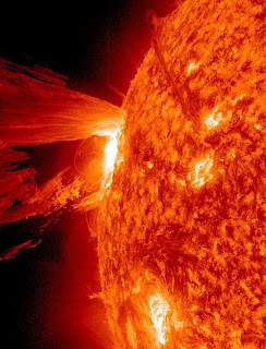 April 16, 2012 solar flare