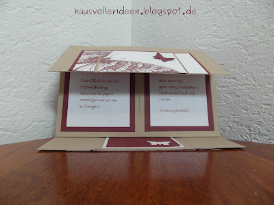 haus voller ideen never ending card mit swallow tail von stampin 39 up. Black Bedroom Furniture Sets. Home Design Ideas