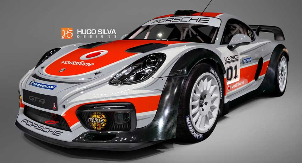 Wouldn 39 t it be awesome if porsche built this cayman gt4 for the wrc