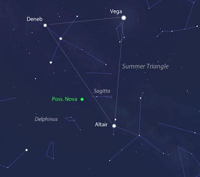 Ledakan Bintang Terdeteksi, Bisa Dilihat dengan Teleskop