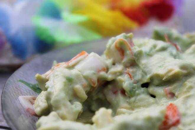 cuisine-recette-avocat-surimi-mayonnaise-jambon-été