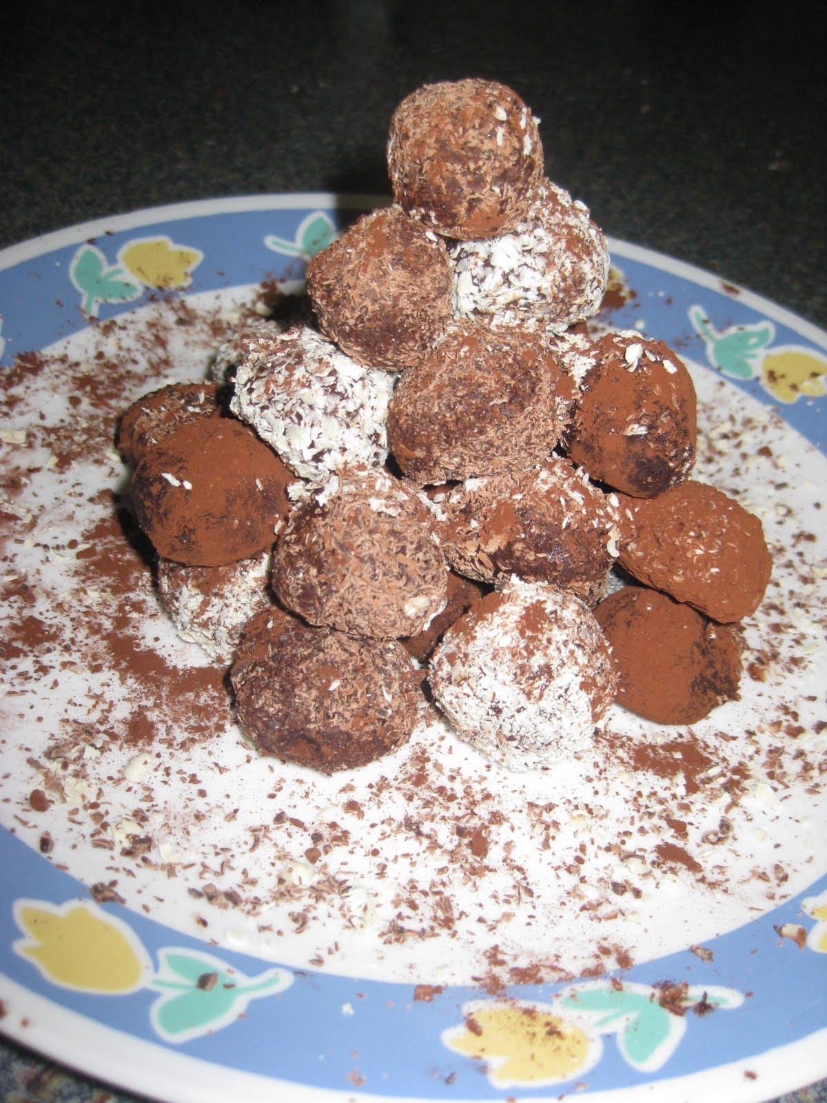 Om nom nom nom: Chocolate Truffles