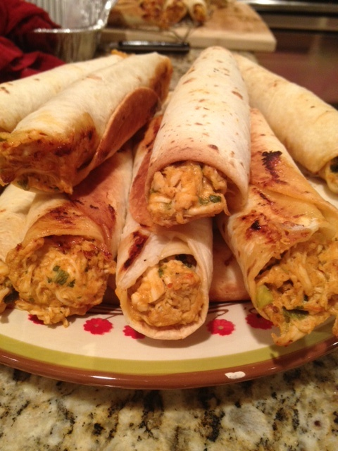 Made To Order: Baked Chicken Taquitos
