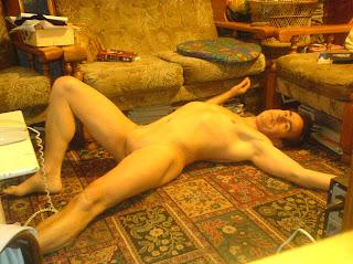 naturist, home nudist, naked garden, naked man, naked boy