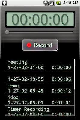 Voice Recorder gratis para Android