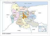 Mapa del Estado Carabobo - Venezuela