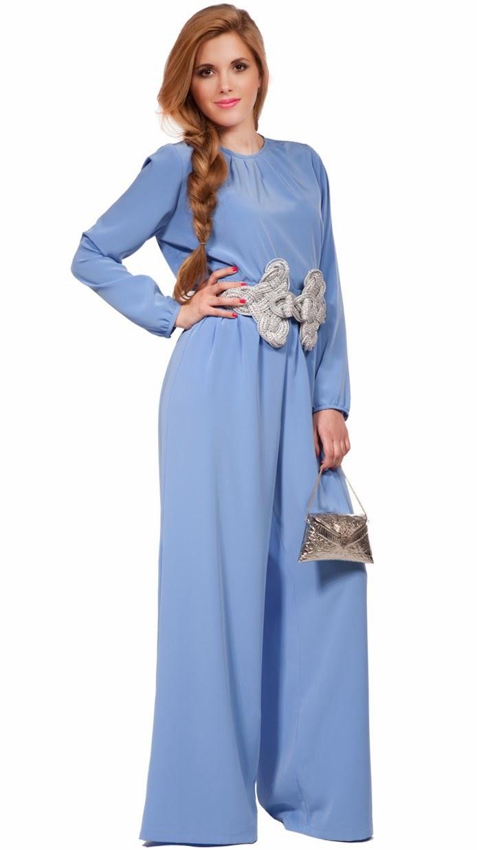 Combinar vestido azul celeste boda