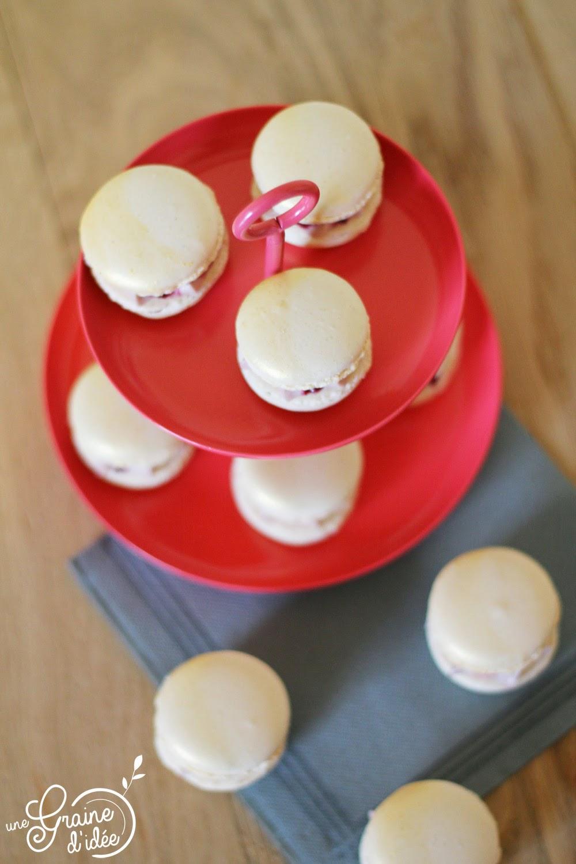 Macaron Baileys Cerise Griotte - Une Graine d'Idée