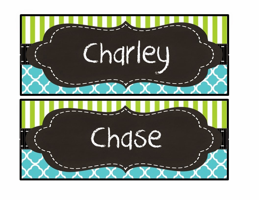 Editable nametags/ deskplates, free for 24hrs