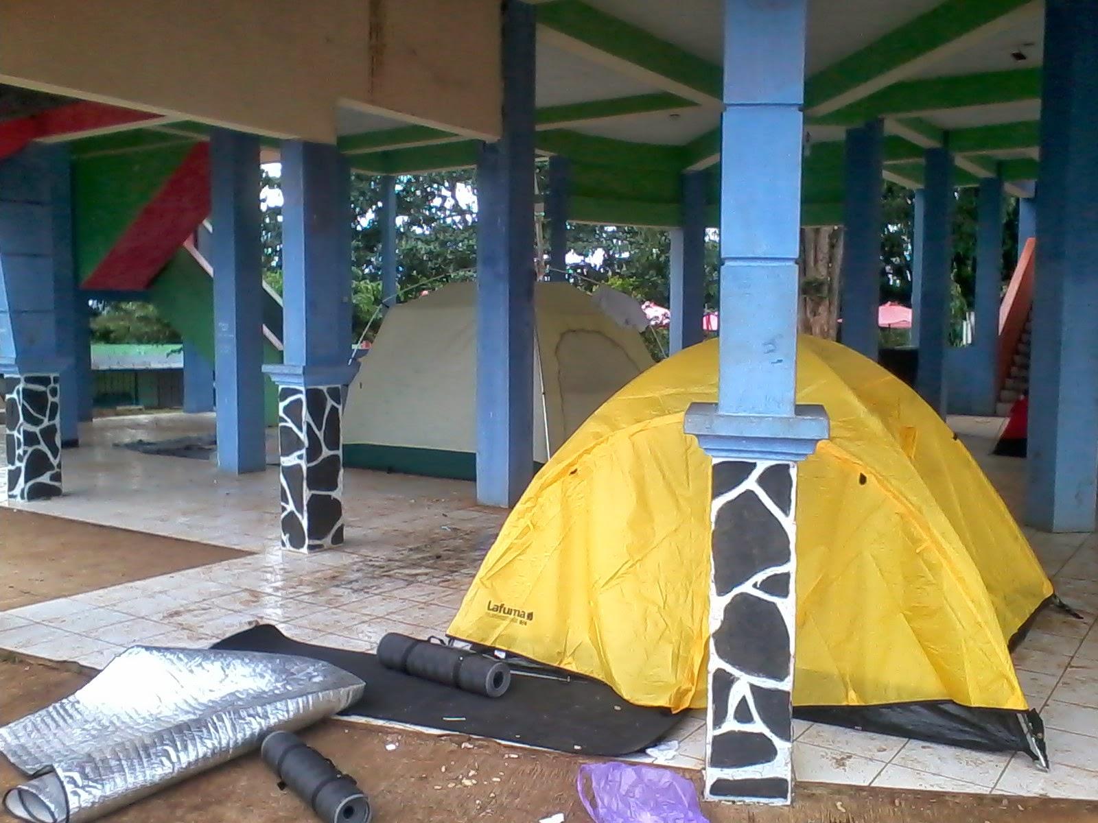 camping di curug sewu