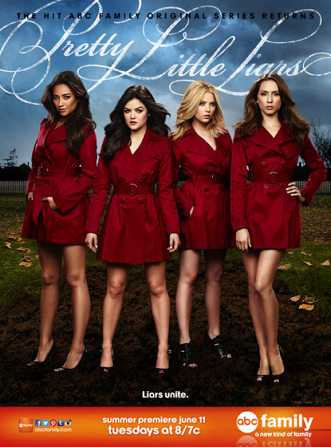 Pretty Little Liars Póster 4ª temporada
