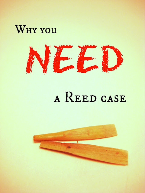 moldy oboe reeds - why you need a reed case