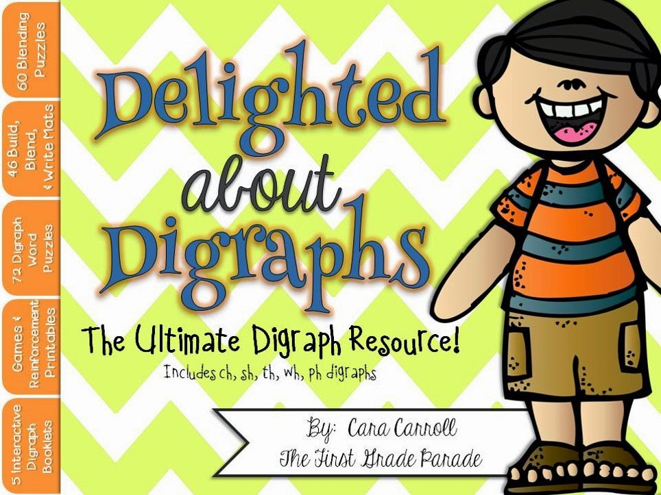 Digraph Puzzles, Games, & Printables