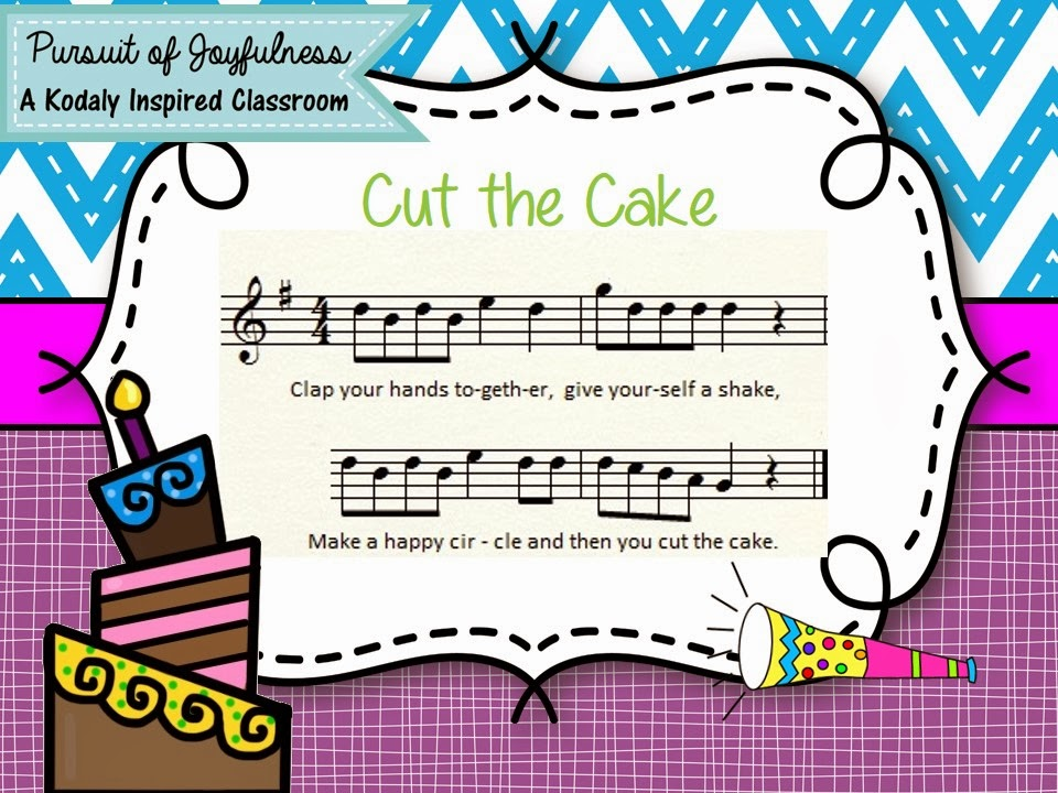 Image result for CUt the Cake singing game
