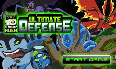 Ben 10 Ultimate Alien Defense game