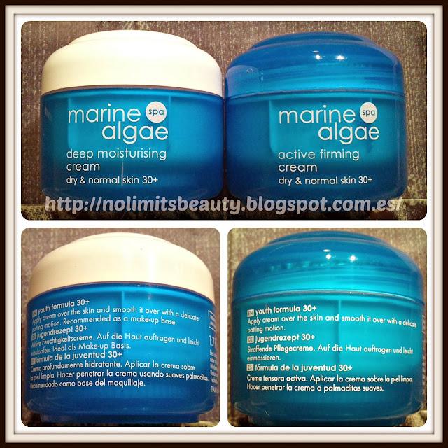 Ziaja - Deep Moisturizing Cream & Active Firming Cream - Marine Algae Spa