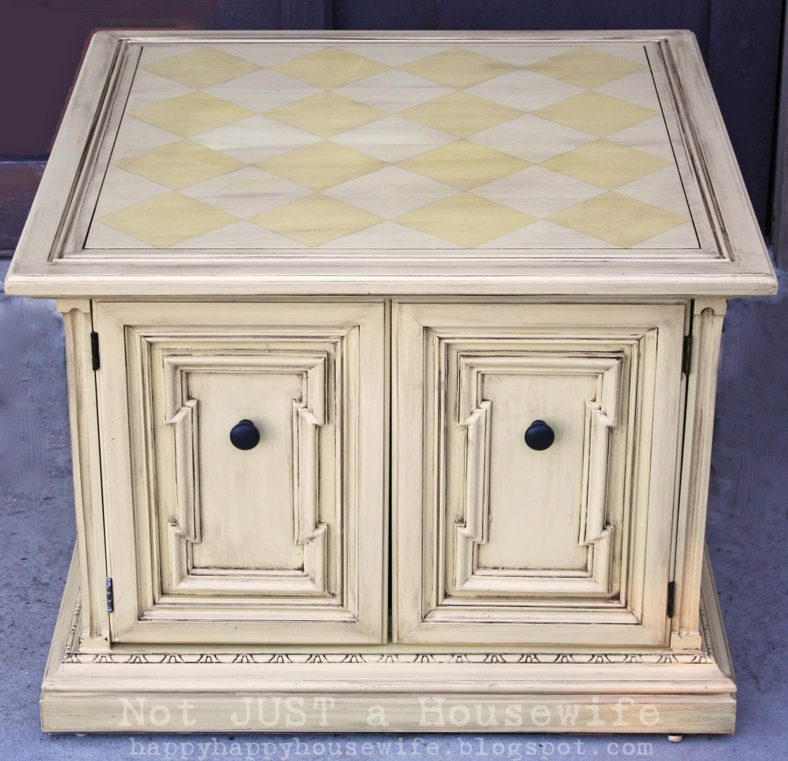 Yellow Glazed Table - Stacy Risenmay