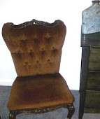 French boudoir chair