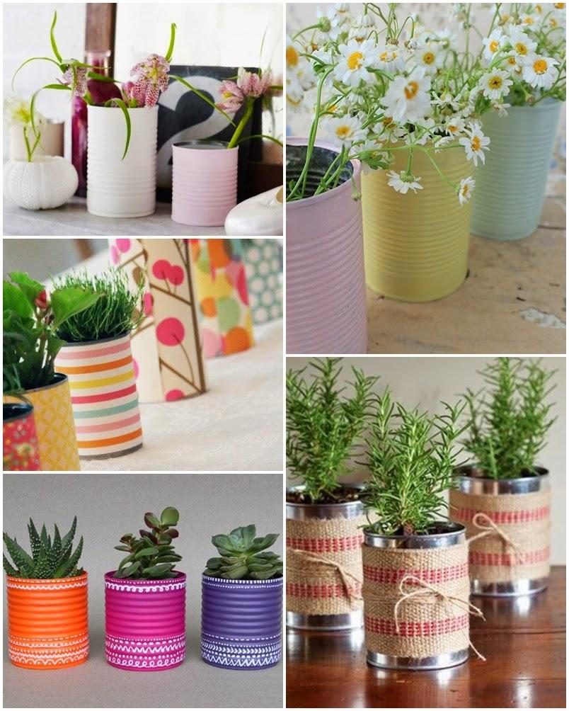 I d e a reciclar latas de conserva for Ideas para decorar la casa reciclando