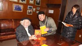 Con el poeta ERNESTO CARDENAL