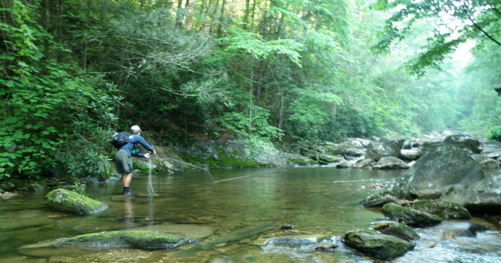 Nc mountain news trout fishing tournament in cherokee for Fly fishing cherokee nc