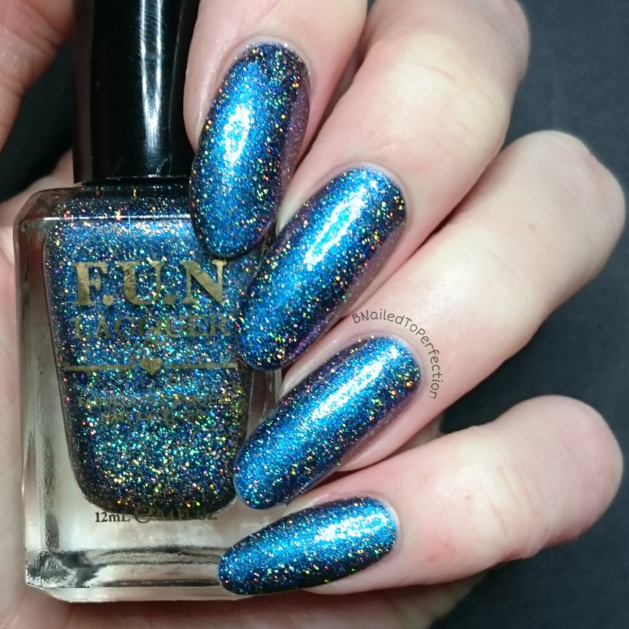 B Nailed To Perfection: F.U.N Lacquer - Frost(H)