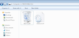 RECYCLER folder icon