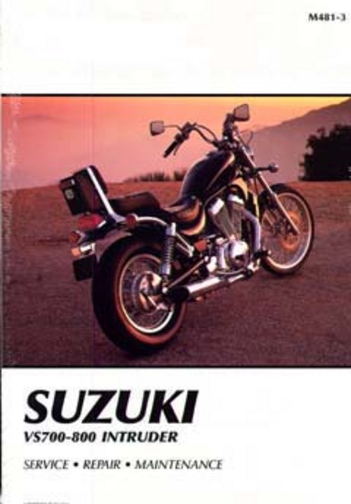1985-1997 Suzuki VS700-800 Intruder Service Manual