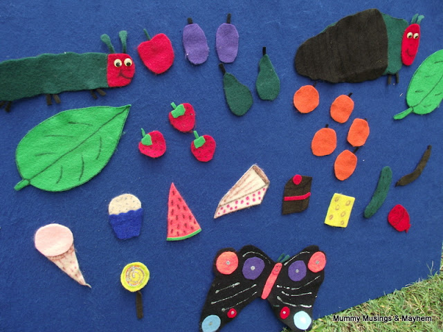 Hungry Caterpillar Felt Story Fun