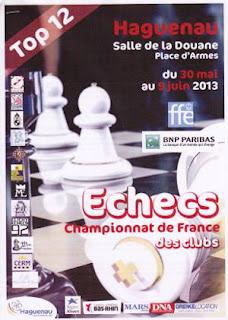 Echecs & Top 12 : l'affiche officielle