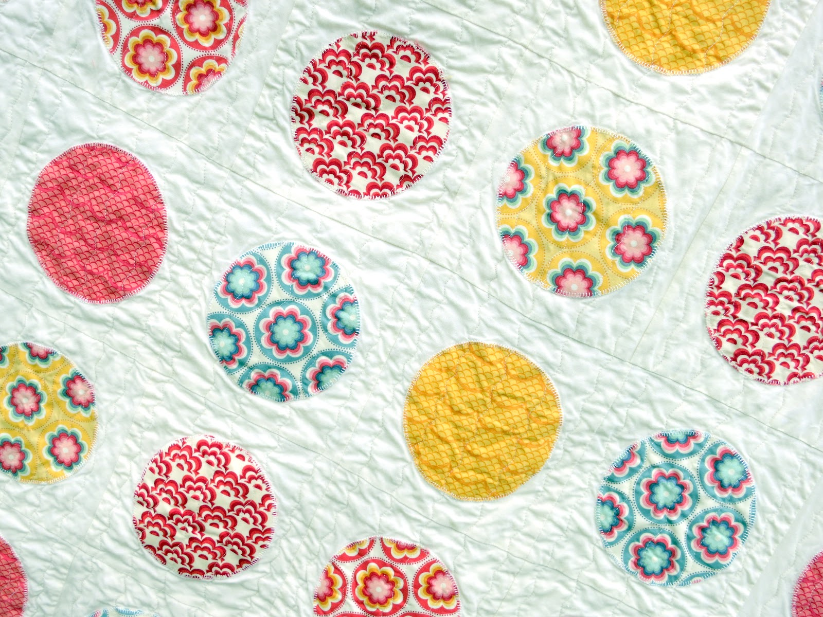 Will It Go Round In Circles Free Quilt Pattern And