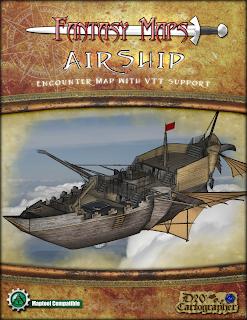 Fantasy Maps - Airship