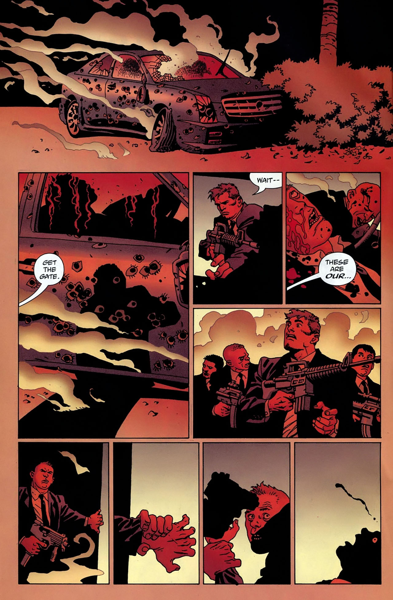 100 Bullets Issue #100 Page 8