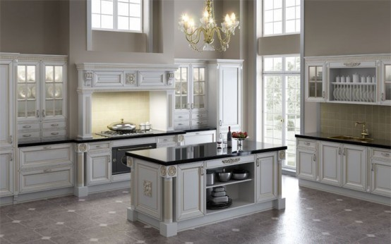 White Cabinets Kitchen