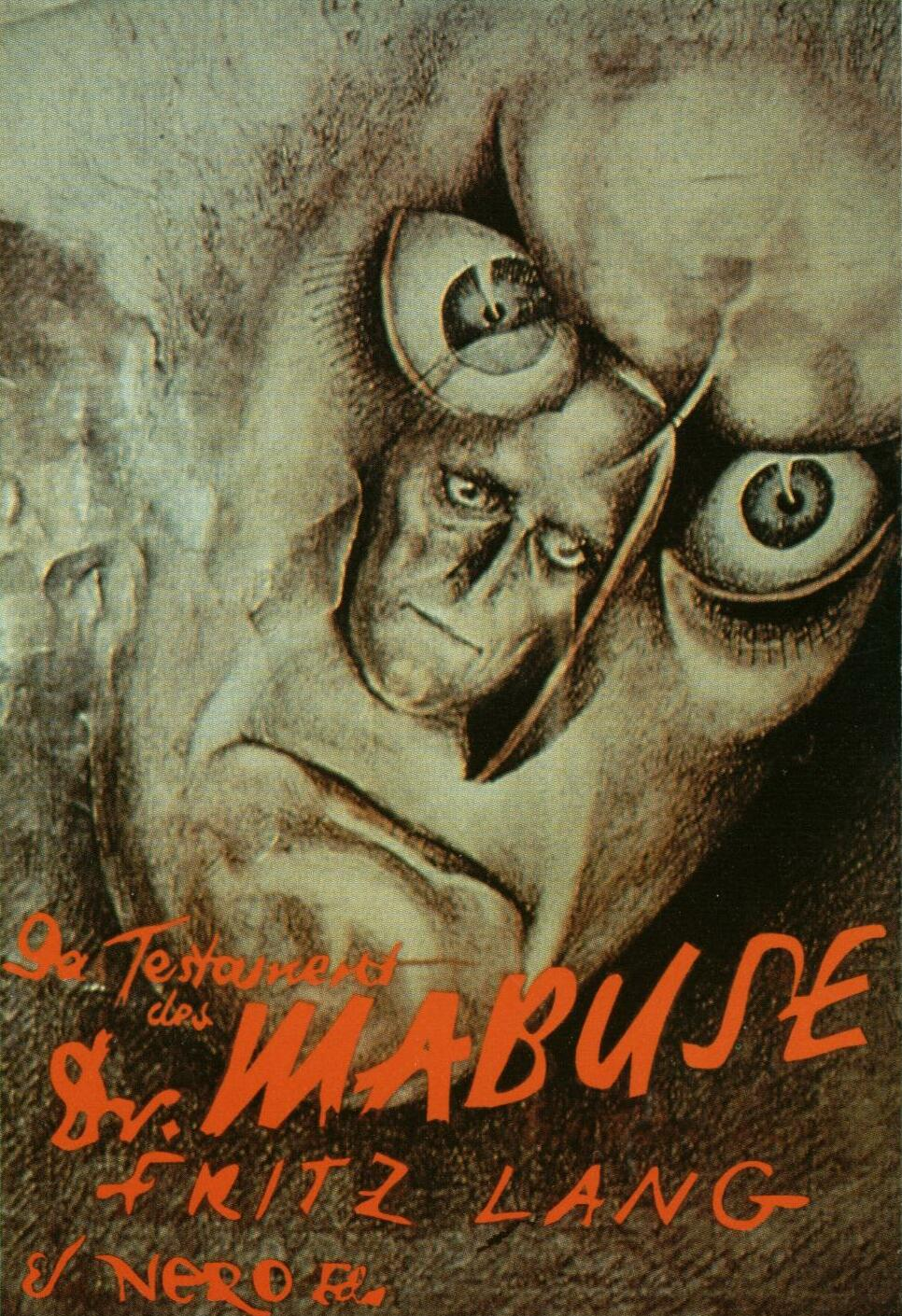 Bitter cinema poster of the week das testament des dr mabuse