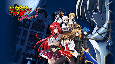 High School DxD [BD] Episode 1 - 12 [END] Subtitle Indonesia