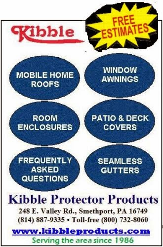 Call DAVE KIBBLE for a FREE ESTIMATE