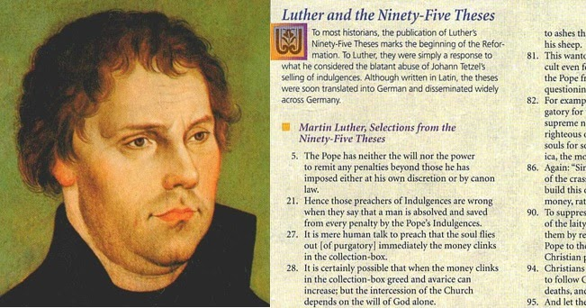 consider luther as a thesis drama Luther was summoned to heidelberg for a disputation [regarding the 95 theses], but instead of being castigated, he was celebrated, and even given the opportunity to persuade those there of his views, including the future prominent reformer, martin bucer .