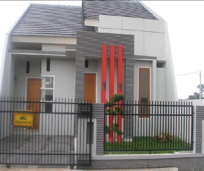 Dinding rumah bagian luar
