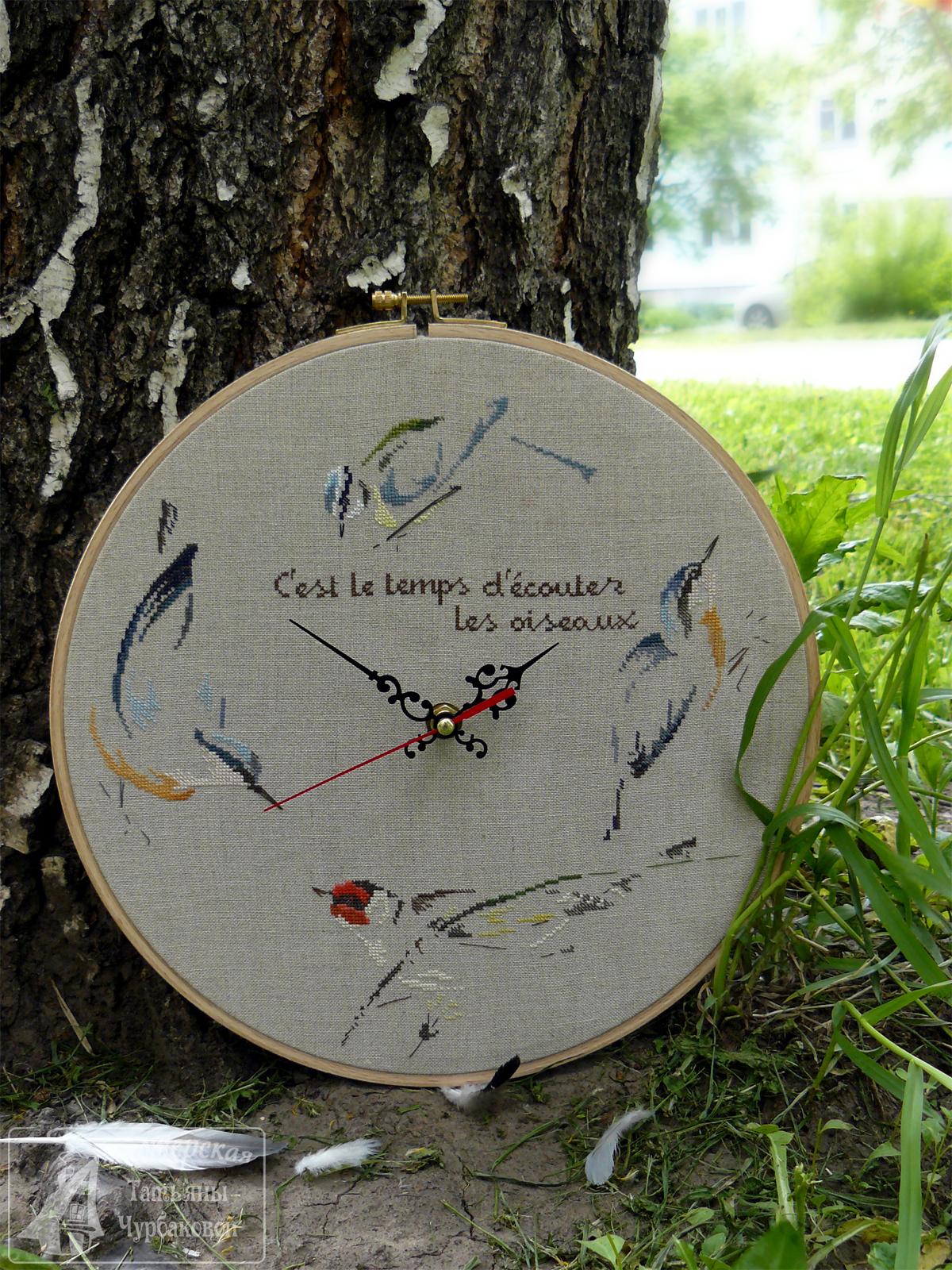 часы время слушать птиц mtsa les oiseaux