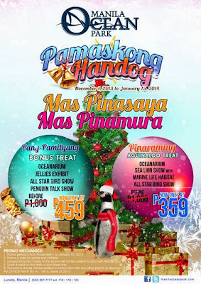 Check out Manila Ocean Park Holiday Promo 2013 . Enjoy great package