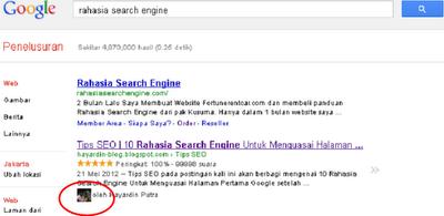 Bagaimana Cara Menampilkan Foto Profil Pada Hasil Pencarian Google