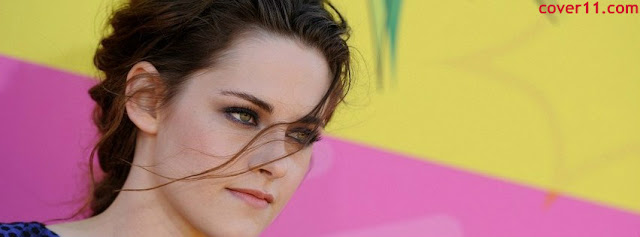 Hot Kristen Stewart Facebook Covers 2013