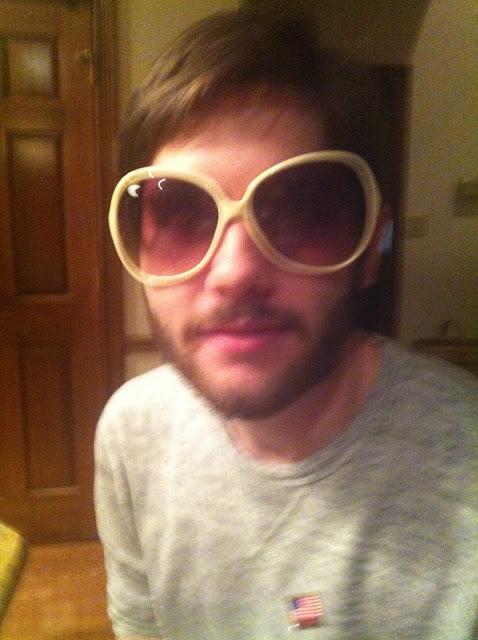 man in huge sunglasses