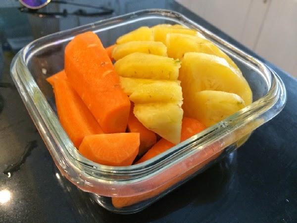 Tự làm nước ép dứa Cà rốt thanh mát cho ngày nóng 1
