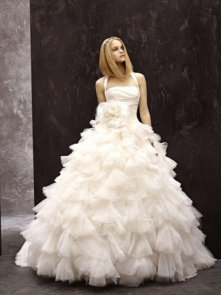 April 2013 trendy fashionable dresses for Vera wang wedding dresses prices list