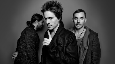 Jared Leto, Shannon Leto, Tomo Miličević 2013 - 30 Seconds to Mars