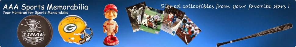 AAA Sports Memorabilia Blog